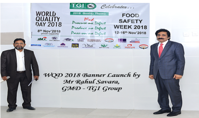 Banner inaguration by GMD