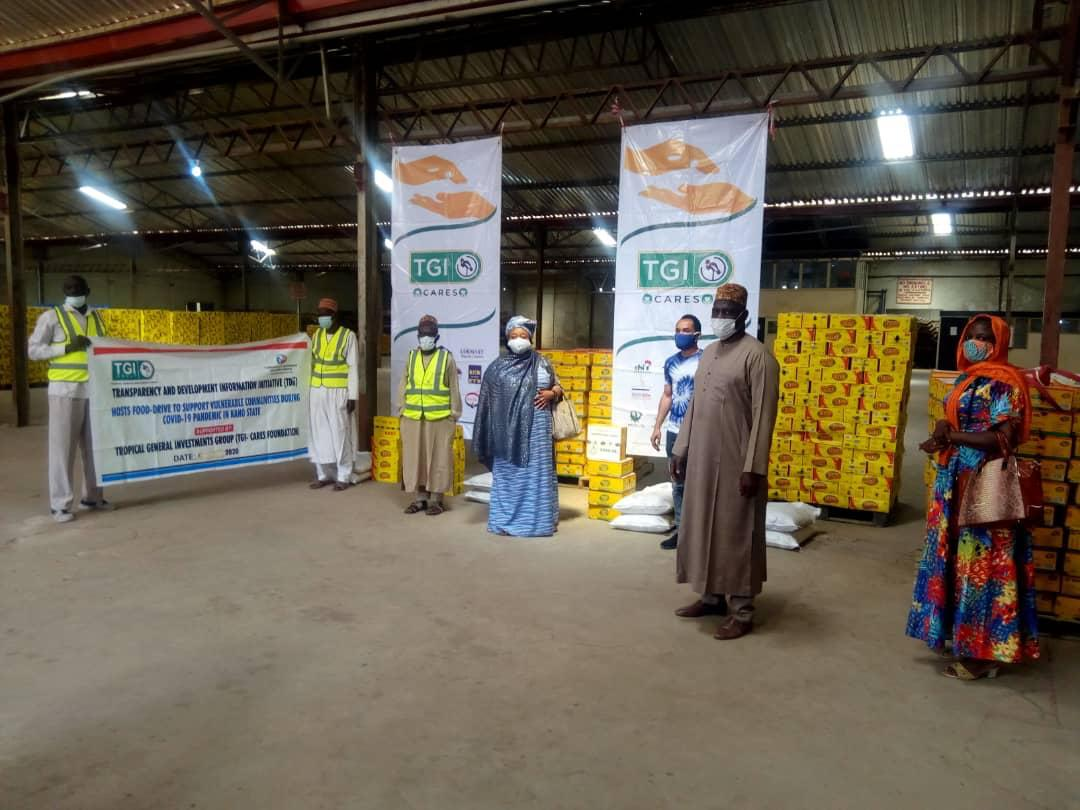 COVID-19: TGI GROUP EMPLOYEES EXTEND CHARITY DRIVE TO NORTHERN NIGERIA